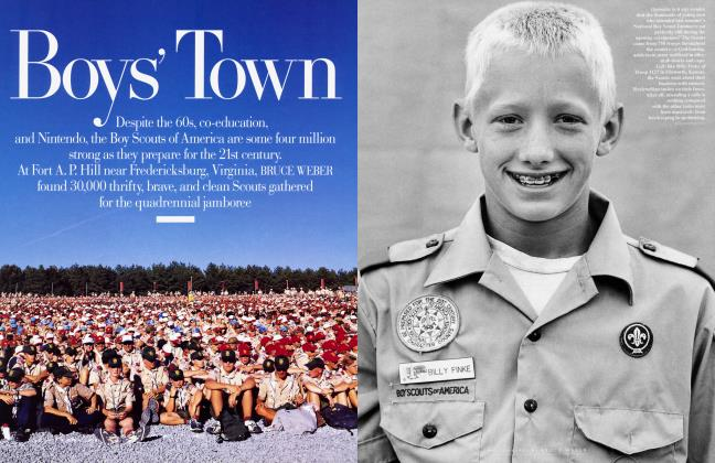 Article Preview: Boy's Town, February 1998 1998 | Vanity Fair