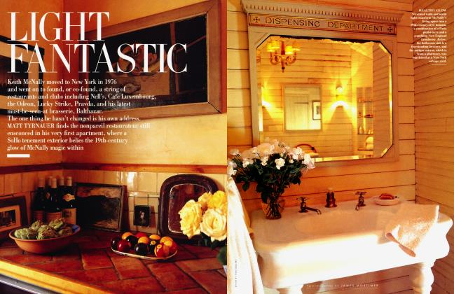 Article Preview: LIGHT FANTASTIC, February 1998 | Vanity Fair