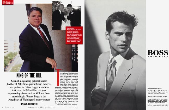 Article Preview: KING OF THE HILL, March 1998 1998 | Vanity Fair
