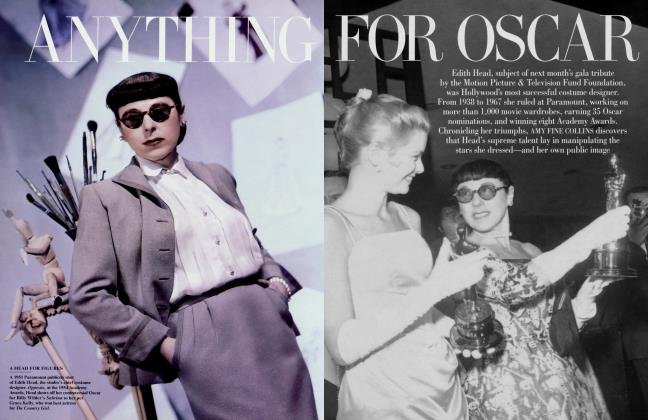 Article Preview: ANYTHING FOR OSCAR, March 1998 1998 | Vanity Fair