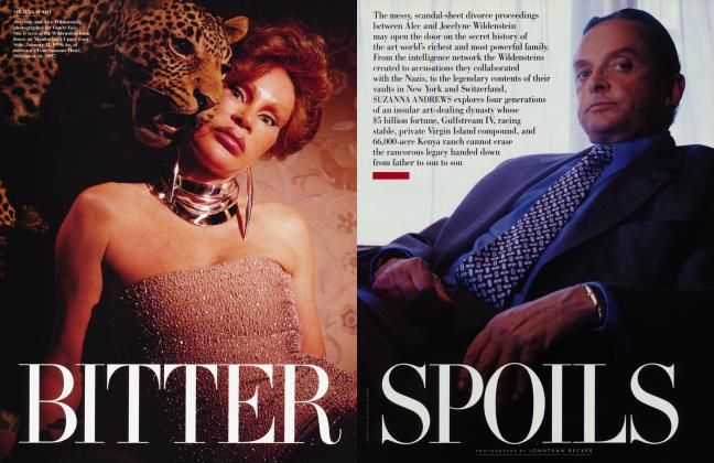 Article Preview: BITTER SPOILS, March 1998 1998 | Vanity Fair
