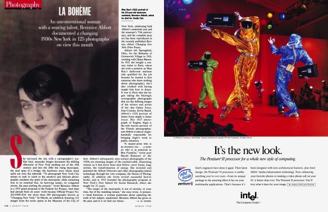 Article Preview: LA BOHÈME, March 1998 1998 | Vanity Fair