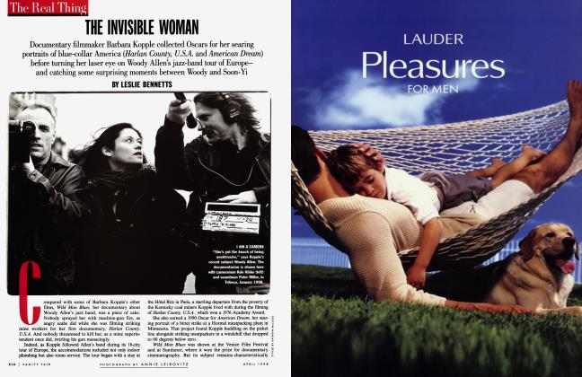 Article Preview: THE INVISIBLE WOMAN, April 1998 1998 | Vanity Fair