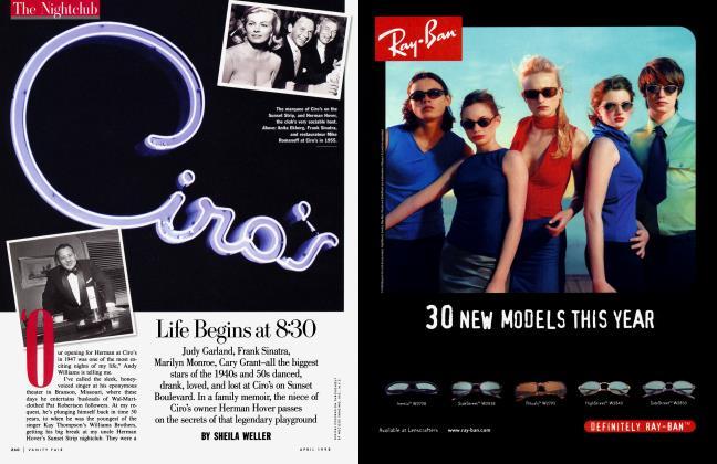 Article Preview: Life Begins at 8:30, April 1998 1998 | Vanity Fair