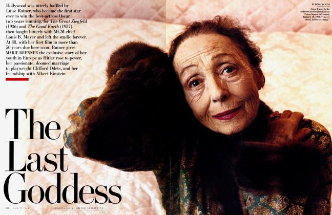 Article Preview: The Last Goddess, April 1998 1998 | Vanity Fair