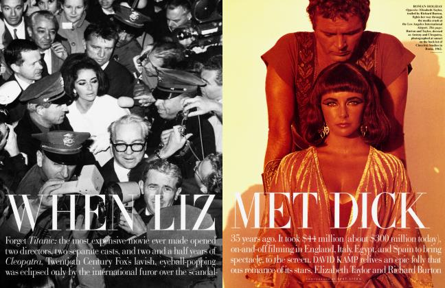 Article Preview: WHEN LIZ MET DICK, April 1998 1998 | Vanity Fair