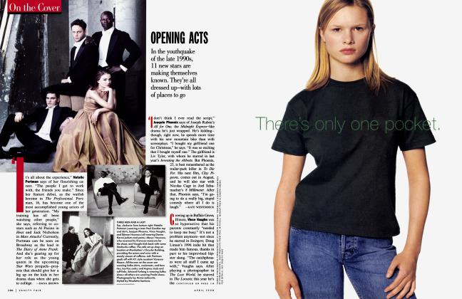 Article Preview: OPENING ACTS, April 1998 1998 | Vanity Fair