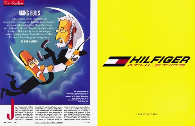 Article Preview: AGING BULLS, April 1998 | Vanity Fair
