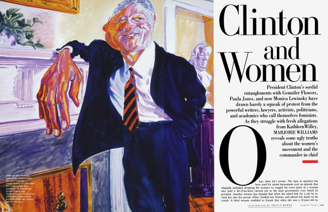 Article Preview: Clinton and Women, May 1998 | Vanity Fair