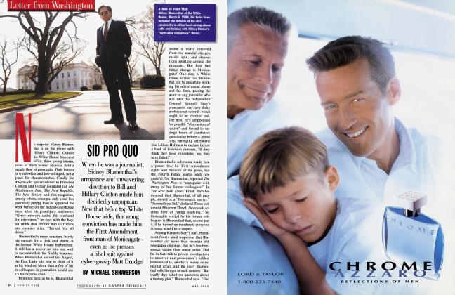 Article Preview: SID PRO QUO, May 1998 1998 | Vanity Fair