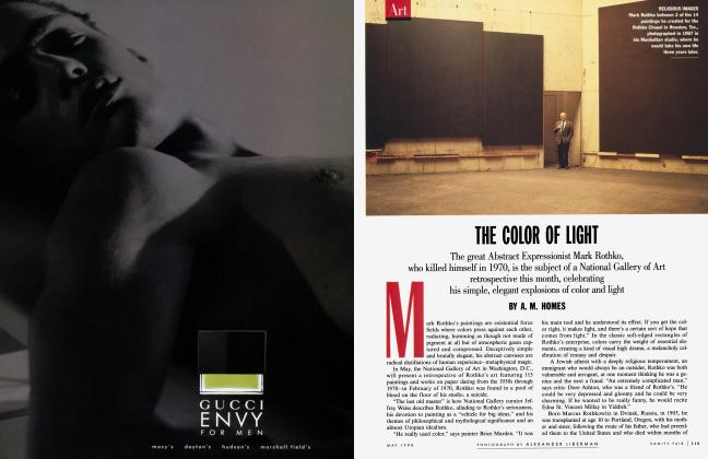 Article Preview: THE COLOR OF LIGHT, May 1998 1998 | Vanity Fair