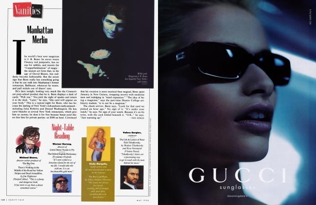 Article Preview: Manhattan Merlin, May 1998 1998 | Vanity Fair