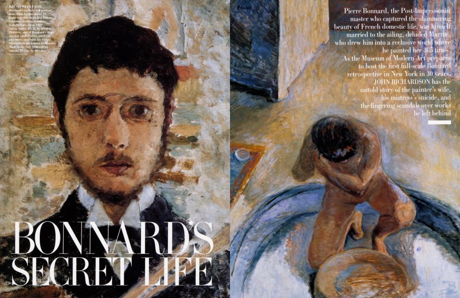 BONNARD'S SECRET LIFE