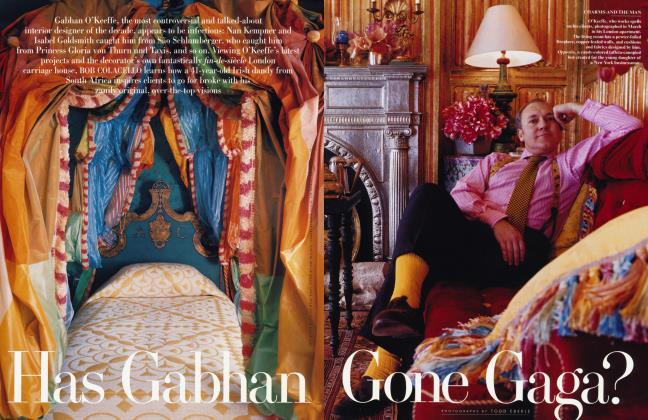 Article Preview: Has Gabhan Gone GAGA?, June 1998 1998 | Vanity Fair