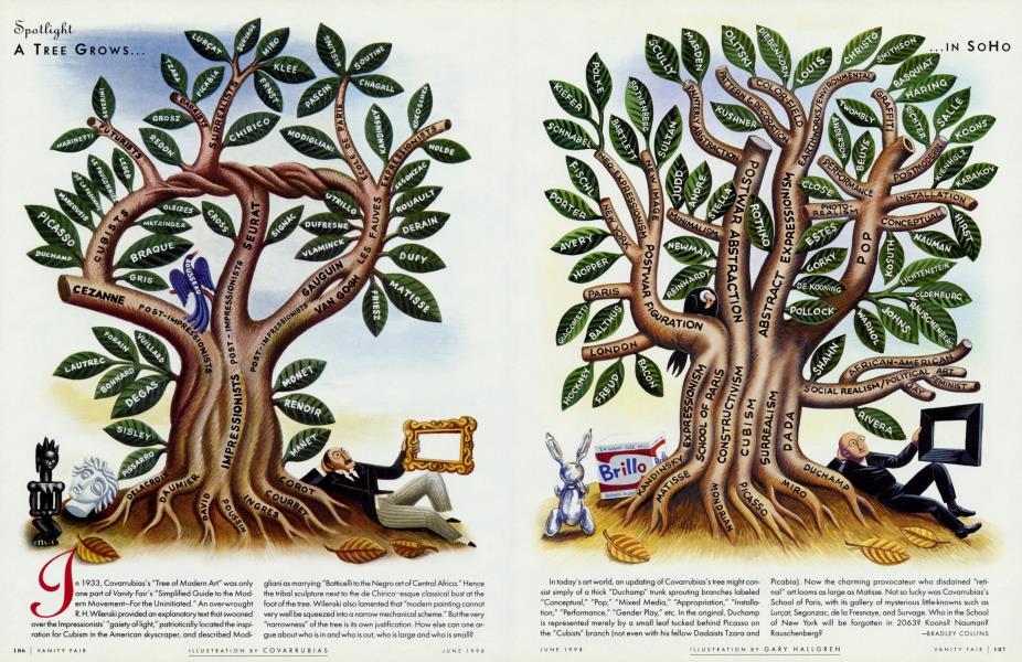 A TREE GROWS IN SOHO