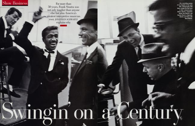 Article Preview: Swingin' on a Century, July 1998 | Vanity Fair