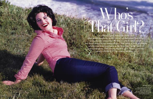 Article Preview: Who's That Girl?, July 1998 1998 | Vanity Fair