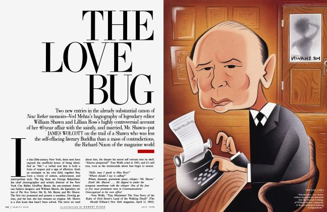 Article Preview: THE LOVE BUG, July 1998 | Vanity Fair
