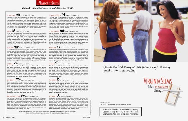 Article Preview: Planetarium, July 1998   Vanity Fair