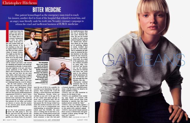 Article Preview: BITTER MEDICINE, August 1998 | Vanity Fair