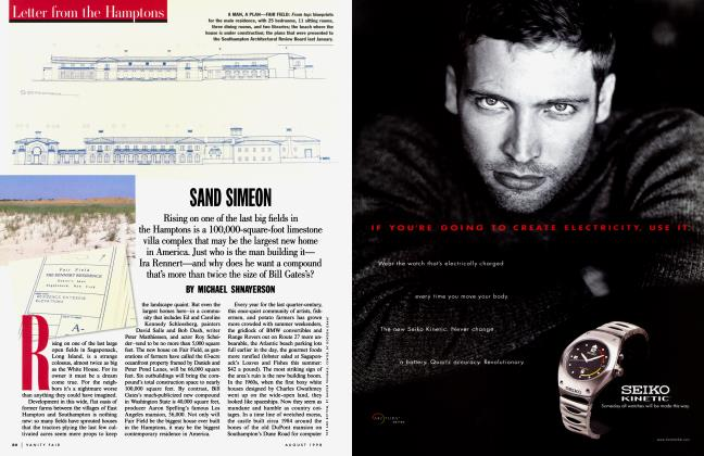 Article Preview: SAND SIMEON, August 1998 1998 | Vanity Fair