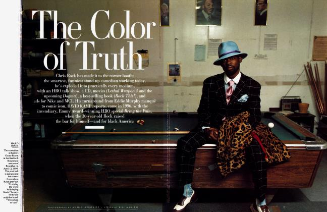 Article Preview: The Color of Truth, August 1998 1998 | Vanity Fair