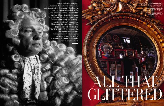 Article Preview: ALL THAT GLITTERED, August 1998 | Vanity Fair