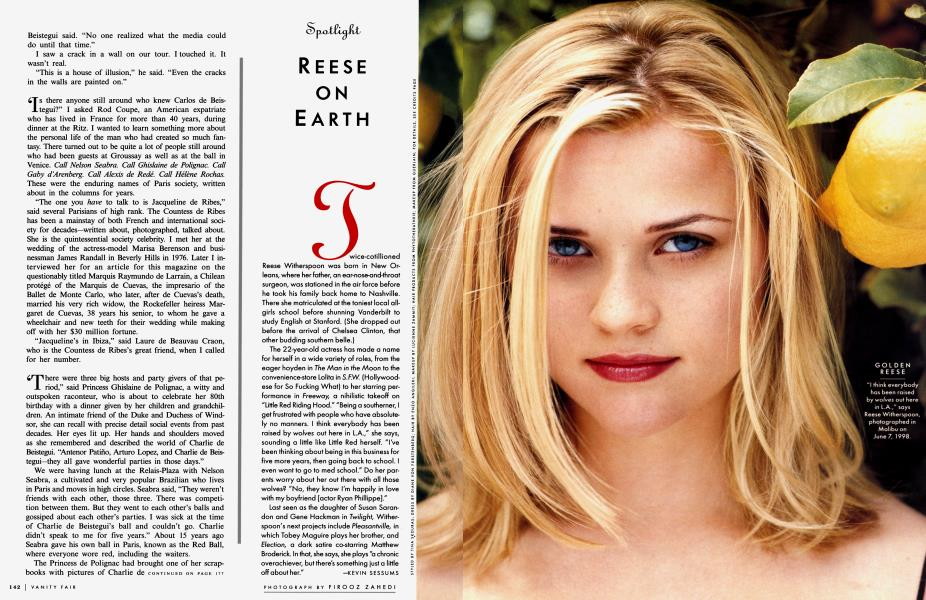 REESE ON EARTH