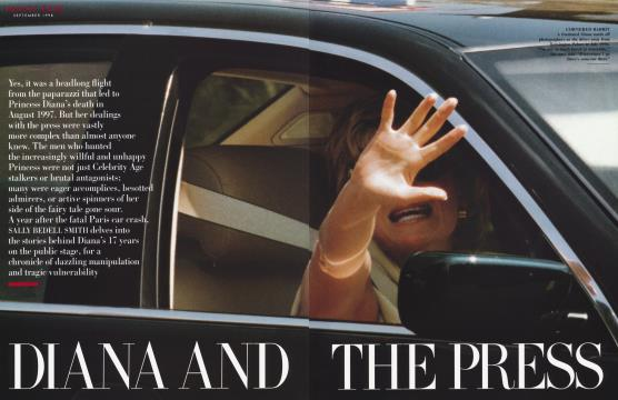 DIANA AND THE PRESS - September | Vanity Fair