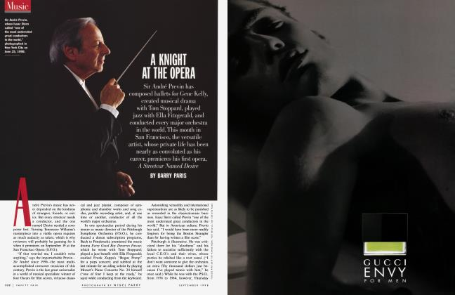Article Preview: A KNIGHT AT THE OPERA, September 1998 1998   Vanity Fair