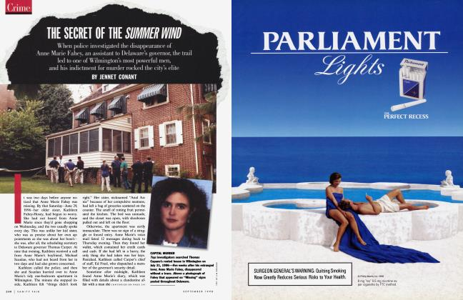 Article Preview: THE SECRET OF THE SUMMER WIND, September 1998 1998 | Vanity Fair