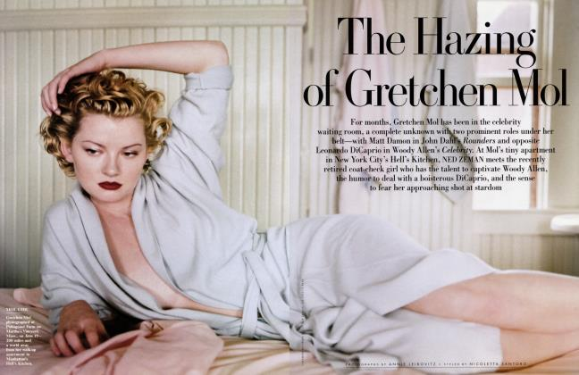 Article Preview: The Hazing of Gretchen Mol, September 1998 1998 | Vanity Fair
