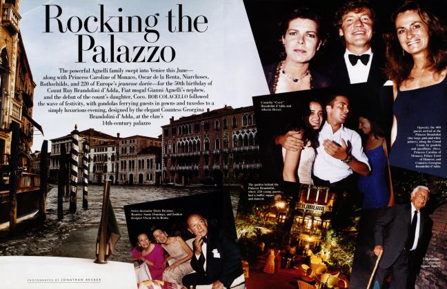 Article Preview: Rocking the Palazzo, September 1998 1998 | Vanity Fair