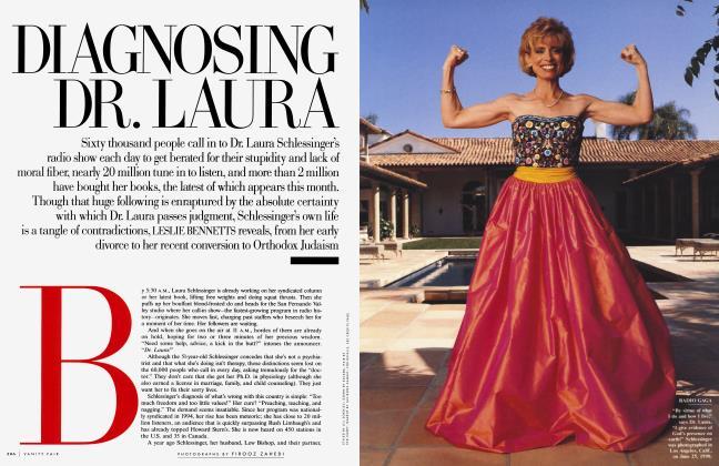 Article Preview: DIAGNOSING DR. LAURA, September 1998 1998   Vanity Fair