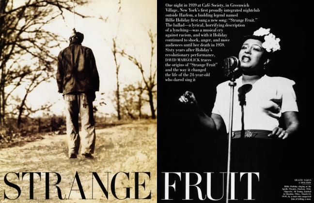Article Preview: STRANGE FRUIT, September 1998 1998 | Vanity Fair