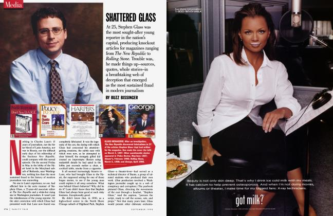 Article Preview: SHATTERED GLASS, September 1998 1998 | Vanity Fair