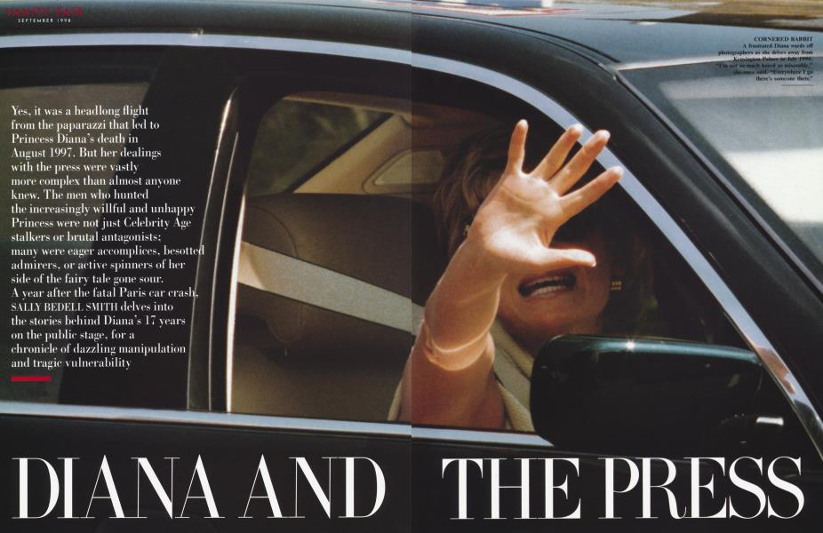 DIANA AND THE PRESS