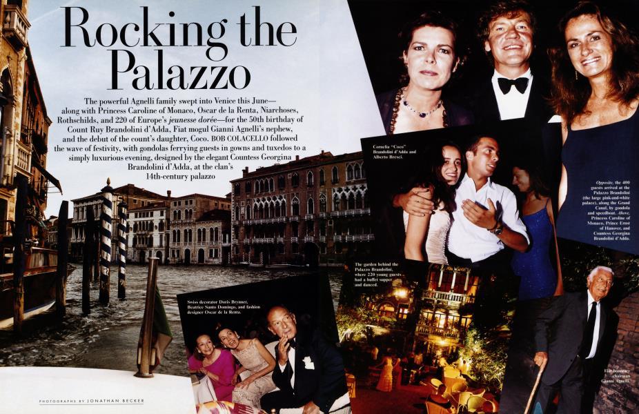 Rocking the Palazzo