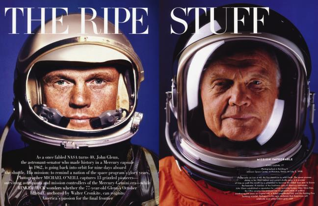 Article Preview: THE RIPE STUFF, October 1998 1998 | Vanity Fair