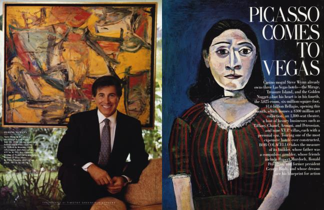 Article Preview: PICASSO COMES TO VEGAS, October 1998 | Vanity Fair