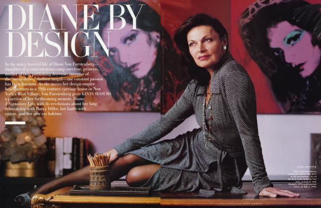 Article Preview: DIANE BY DESIGN, October 1998 1998 | Vanity Fair