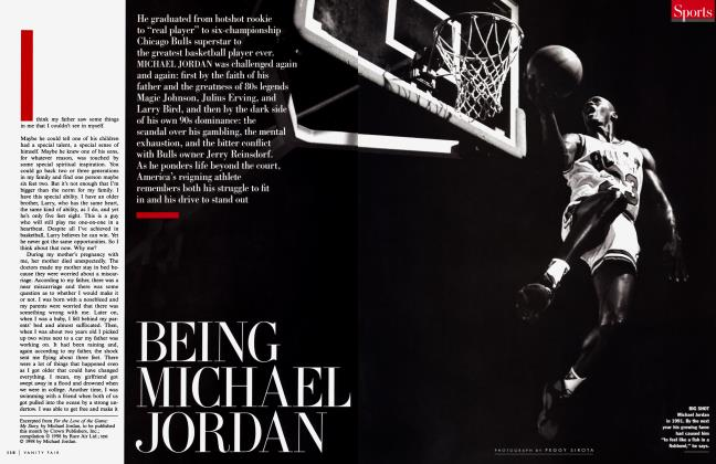 Article Preview: BEING MICHAEL JORDAN, October 1998 1998 | Vanity Fair