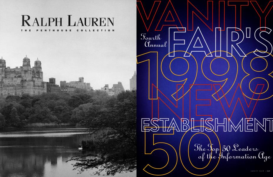 VANITY FAIR'S Fourth Annual 1998 NEW ESTABLISHMENT 50