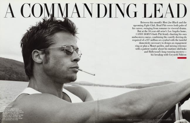 Article Preview: A COMMANDING LEAD, November 1998 1998 | Vanity Fair