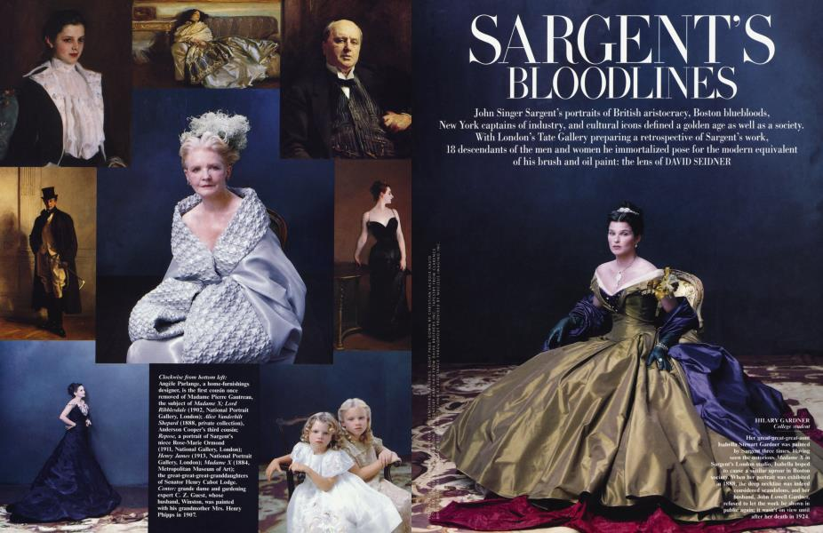 SARGENT'S BLOODLINES