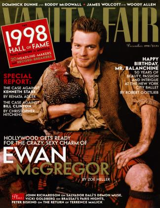 Cover for the December 1998 issue