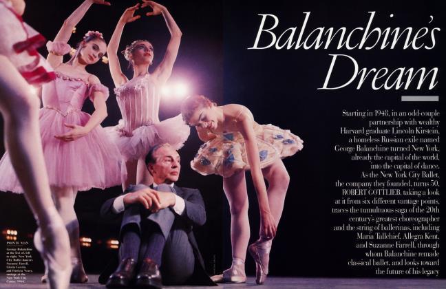 Article Preview: Balanchine's Dream, December 1998 1998 | Vanity Fair