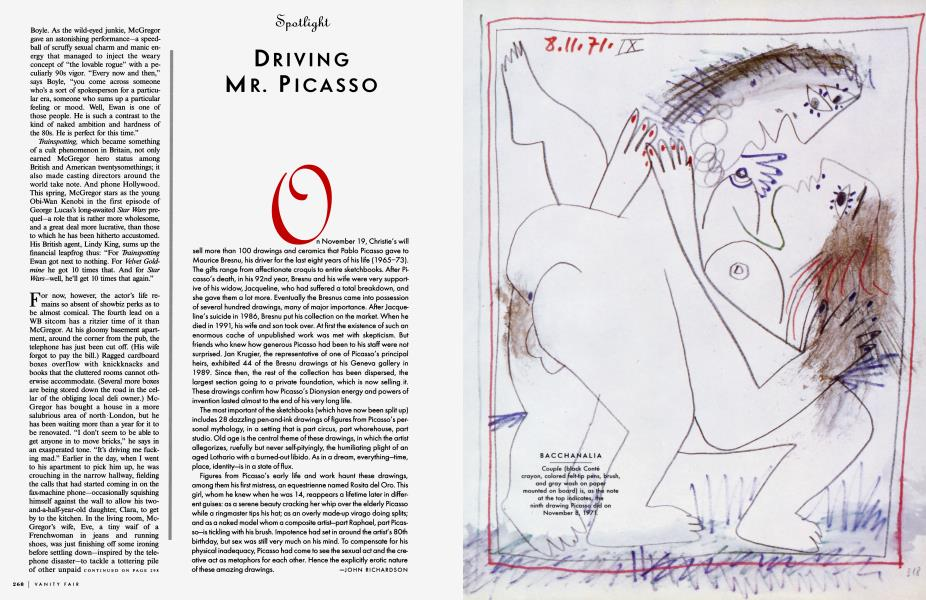 DRIVING MR. PICASSO