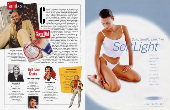 Article Preview: Speed Dial, January 1999 1999 | Vanity Fair
