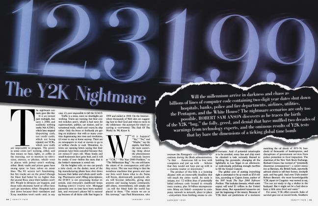 Article Preview: 12.31.99 The Y2K Nightmare, January 1999 1999 | Vanity Fair